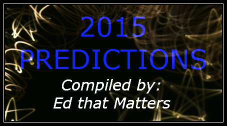 2015 Predictions – List Of