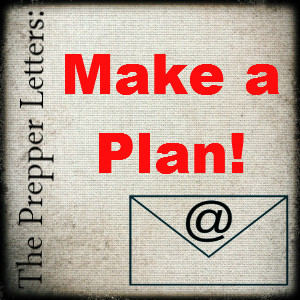 The Prepper Letters: Making a Plan So You're Not Overwhelmed!