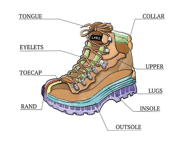 Image 1 - boot anatomy