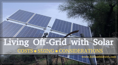 Living Off the Grid with Solar!