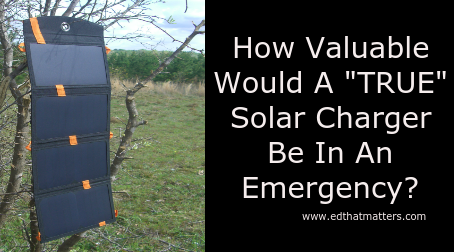 "How Valuable Would A ""TRUE"" Solar Charger Be In An Emergency? The Kogalla Solar Storage Bank Review!"
