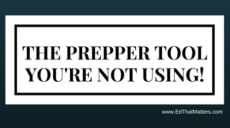 The Prepper Tool That You're Not Using!
