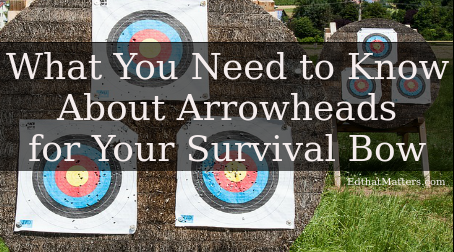 What You Need to Know About Arrowheads for Your Survival Bow: Types, Care & Advice