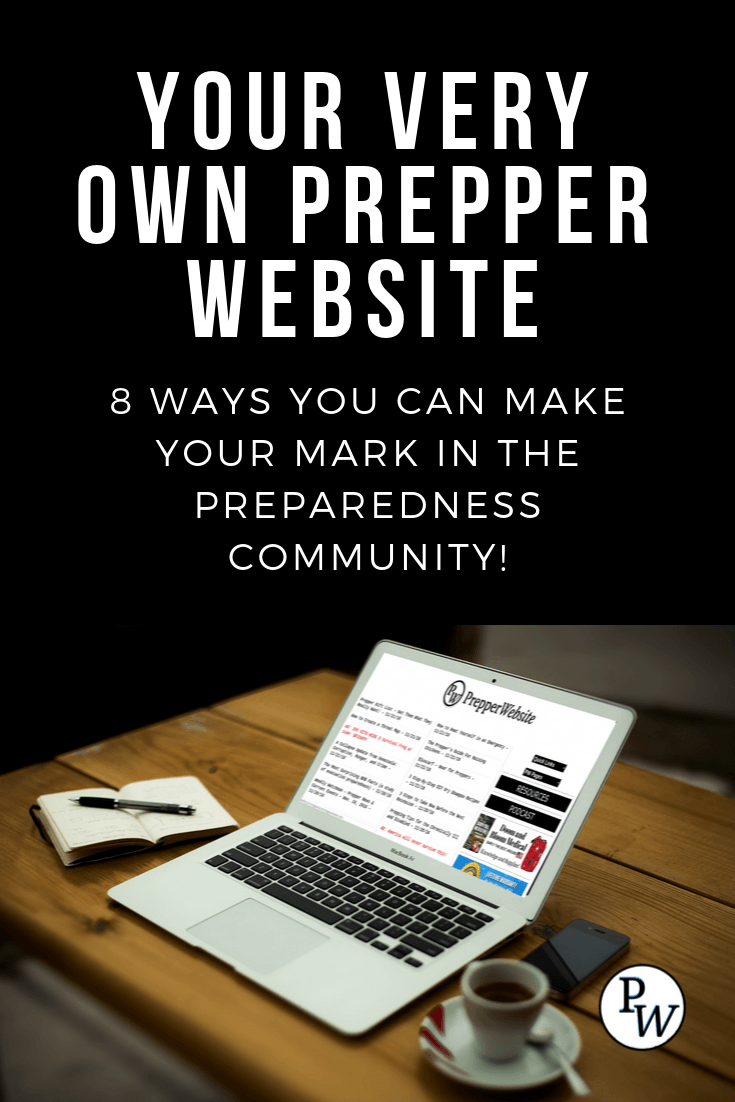 Your Own Prepper Website