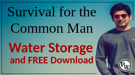 Survival for the Common Man – Your Water Storage Solution