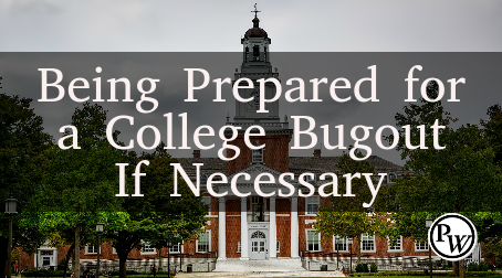 Prepping in College: Being Prepared for a College Bugout If Necessary