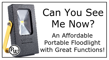 Can You See Me Now? An Affordable Portable Floodlight with Great Functions!